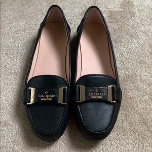 Kate spade black loafers